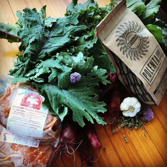 locavore raw goods! Its a beautiful day for the trumansburgfarmersmarkethellip