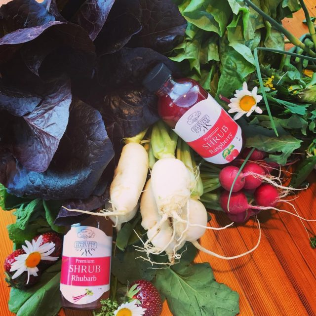 locavore raw goods! Local bounty of fresh harvests and ourhellip