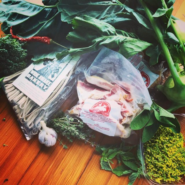locavore atlasbowl tonight! wideawakebakery is featured in the kitchen andhellip
