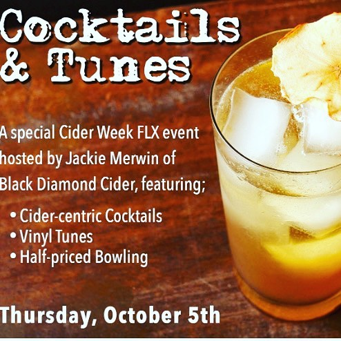 Dont miss this ciderweekflx event with blackdiamondfarm! Cider cocktails tuneshellip