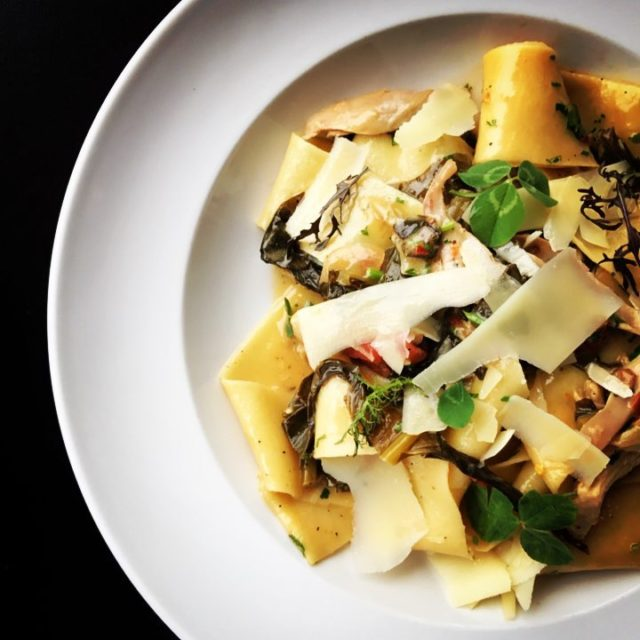 pappardelle and gamehen atlasbowl eatdrinkbowl ithacaisfoodies