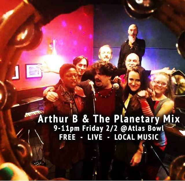 FREE live music with Arthur B amp The Planetary Mixhellip